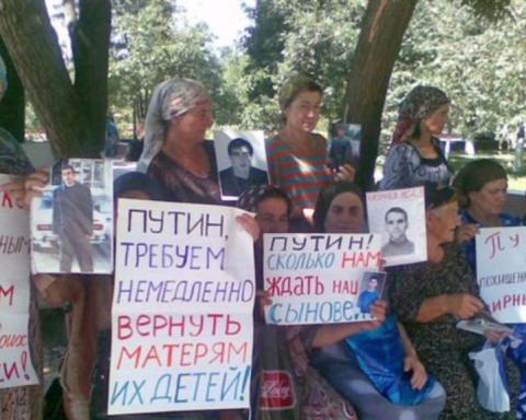 Bildergebnis für Похищения людей в Чечне приняли системный характер
